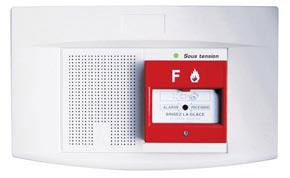 Alarme type 4 secteur 1 boucle à son NFS 32001