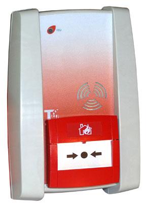 Alarme type 4 sans fil (à piles) à son NFS 32001