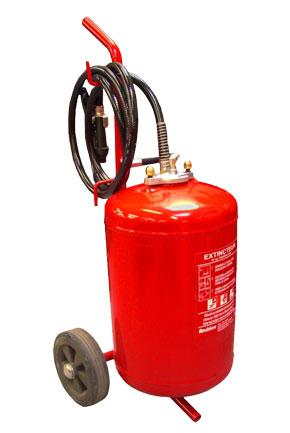 Extincteur eau 45L avec additif certifié NF et CE