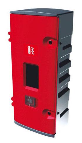 Armoire à clé pour un extincteur CO² 5Kg