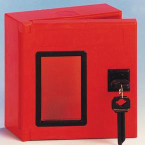 Boîte à clé carrée